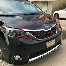 Fit For Toyota Sienna 2015 2016 2017 Front Hood Grill Bonnet Trim Chrome ABS