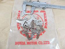 NOS Honda Moto Key Blank Nos Vieux Classique Vintage Antique Vintage Historique