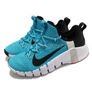 Nike Free Metcon 3 III Light Blue Fury Black White Men Training Shoes CJ0861-410