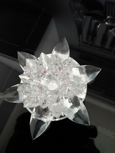 Crystal Look Flower Candle Stick
