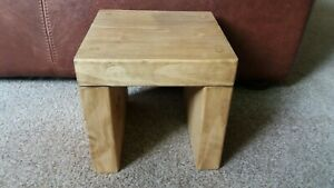 Futon or Side Table (small table) light oak