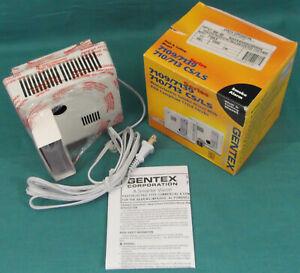 GENTEX 7109LS 120VAC/9VDC PhotoElectric SMK/ALARM Piezo 177CD Strode Wall Ceil