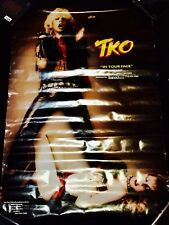 Tko - In Your Face promotional poster Brad Sinsel / Pearl Jam Adam Bomb promo
