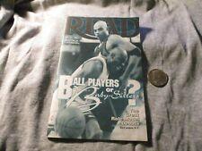 1993 Michael Jordan Chicago Bulls Charles Barkley Suns Read Magazine Not Card