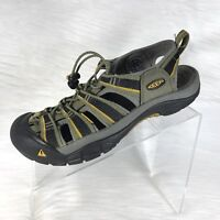 KEEN Men's Sandals Size 8 Light Green/Yellow Waterproof
