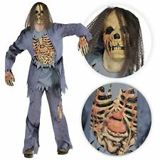 Adult's Men's Horror Zombie Corpse Undead Skeleton Fancy Dress Halloween Costume