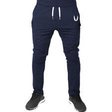 Men Sport Pants Long Trousers Tracksuit Fitness Workout Casual Cotton Sweatpants