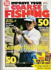 IMPROVE YOUR COARSE FISHING Magazine August 1995 (Issue 50) - Summer Floatfishng