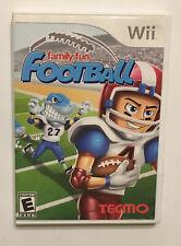 Family Fun Football (Nintendo Wii, 2009) Complete VG++