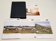 2017 LAND ROVER DISCOVERY SPORT NAVIGATION  OWNERS MANUAL HSE LUX HSE SE V4 2.0