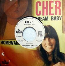 """CHER ( SONNY BONO ) BANG BANG 7"""" BEAT  1966 PROMO JUKE BOX NEEDLES AND PINS"""