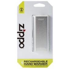 Zippo OUTDOOR 2 Hour Rechargeable hand warmer 113'F/45'C Silver Chrome 40448 NEW