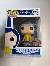 Funko pop + Coraline en raincoat + Diamond Collection Special Edition #423