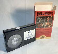 Vintage Hell Night BETA TAPE 1982 Like New Linda Blair