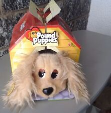 2004 Mattel Pound Puppies Plush Dog Stuffed Animal #Cuccioli Cerca Famiglia
