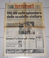 Tuttosport MILAN Campione d'Italia SCUDETTO 10 - 7 maggio 1979