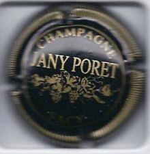 Capsule de champagne PORET-JANY Noir ctr striée N°7