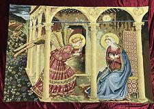 Tapiz Proclamación Beato Angelico AN María arazzo Tapicería 140 x 95cm