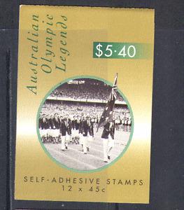 Australia 1998 Olympic Legends/Sport 12v bklt (n14755)