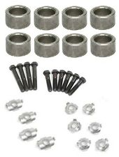 """Rocker Shaft Spacers Retainers Bolts DODGE 440 383 426 .585"""" Wide .880"""" ID Set 8"""