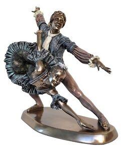 Veronese Bronze Figurine Ballerinas Dance Ballet Dancing Statue Gift Home Decor