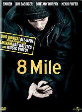 8 Mile (DVD, 2003, Widescreen; Censored Bonus Materials)