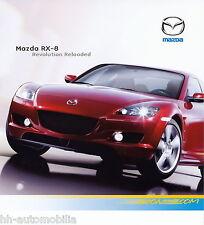 MAZDA rx-8 rivoluzione Reloaded PROSPEKT 20.3.06 brochure 2006 auto automobili Giappone