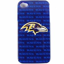 BALTIMORE RAVENS APPLE iPHONE 4 4S FACEPLATE BACK PROTECTOR SNAP COVER CASE