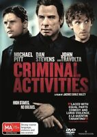 Criminal Activities (DVD 2015) NEW+SEALED