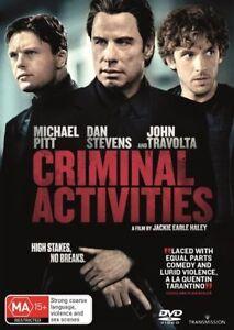 Criminal Activities - BRAND NEW - DVD