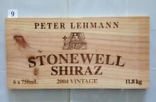 "P9 Wine Box Side PANEL: 2004 Peter Lehmann ""Stonewell"" - Australia."