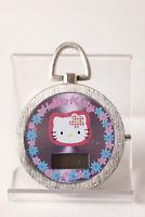 Pieza de colección sanio Reloj bolsillo,Hello Kitty digital,3,5cm,SIN PILA