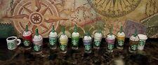 Littlest Pet Shop LPS ❤ Accessories Lot 12 Starbucks Coffee Cups ❤ Custom