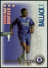 Ballack Chelsea FC Shoot Out 2006-7 Magic Box Silver Football Card (C1281)