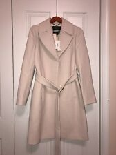 J.Crew double-cloth belted trench coat $425, size 8, Ivory, Sold Out