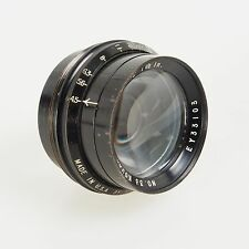 "= No. 33 Kodak Anastigmat 7 1/2"" f4.5 Lens for Large Format Cameras"