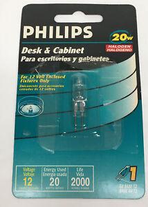 Philips Desk And Cabinet 20 Watt Halogen Bulb G4 BASE T3