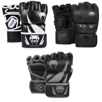 Venum MMA Gloves Challenger Mixed Martial Arts Fight Sparring Mens Black