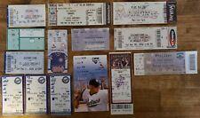 St. Louis Cardinals Ticket Stub Lot of (13) Away Games 2004-2013 MLB