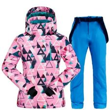 Warm Ski Suit  Ski Jacket Pants Waterproof Windproof Snowboarding Suits Snow Set