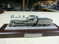 1/101 Danbury Mint PEWTER ENGINE-CANNON BALL-ICR.R. 1 OF12 GREAT LOCOMOTIVES