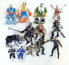 Lot 13 Mixed Action Figures, Late 1990's Dates, McFarlane, Power Rangers, Zombie