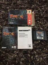 N64 Nintendo Turok 2 Seeds Of Evil CIB Complete