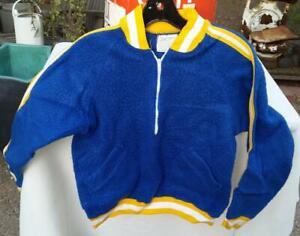 Vintage Birmingham High School Yell Leader Pullover Jacket Fleece 8 Champion
