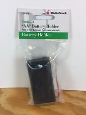 Radio Shack Enclosed Aa Battery Holder Holds 2 Aa Batteries Color Coded Wires