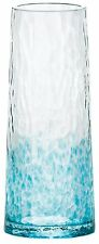 NEW Tsugaru Vidro Mini Glass Flower Vase Turquoise Blue F-49047 F/S from Japan