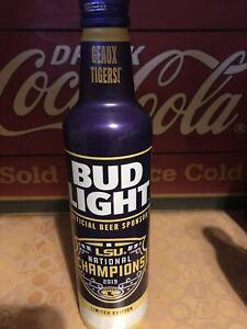 Budweiser Vietnam empty aluminium beer bottle NEW YEAR OF BUFFALO 2021