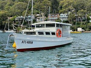 1969 Custom Cruiser, beautiful white wooden 'river queen'