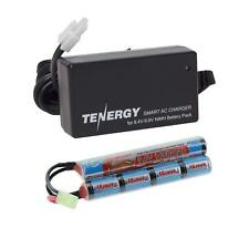 Tenergy 9.6V 1600mAh NiMH Airsoft Battery Pack/8.4V-9.6V Smart Charger Option