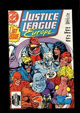 JUSTICE LEAGUE EUROPE 1 (9.2)  DC (B038)